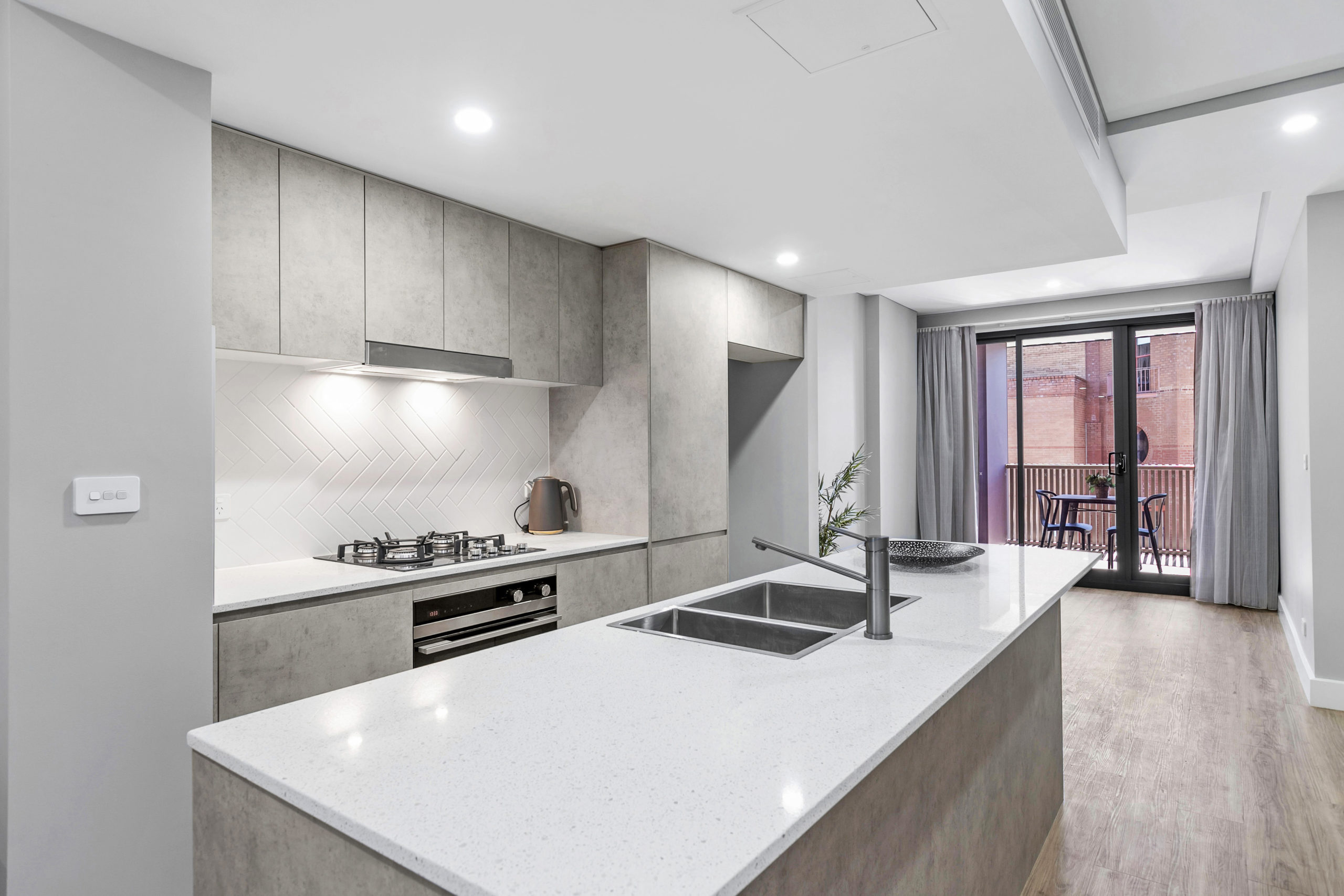 Civic Park Multi Residential Apartments Kitchen